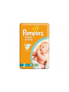 Подгузники Pampers Sleep&Play 2 Mini (3-6 кг), 68 шт