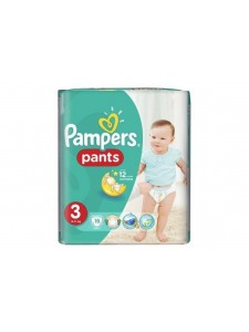 Подгузники-трусики Pampers Pants 3 (6-11 кг), 19 шт
