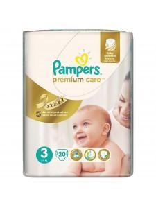 Подгузники Pampers Premium Care 3 Midi (5-9 кг), 20 шт