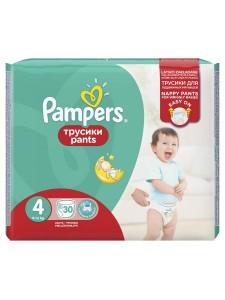 Подгузники-трусики Pampers Pants 4 (8-14 кг), 30 шт