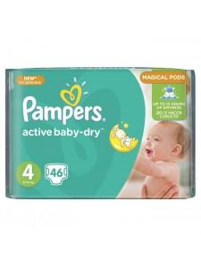 Подгузники Pampers Active Baby Maxi 4 (8-14 кг), 46 шт