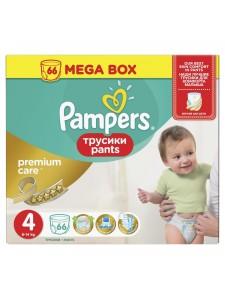 Подгузники-трусики Pampers Premium Care Pants 4 (8-14 кг), 66 шт