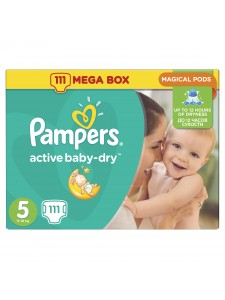 Подгузники Pampers Active Baby Junior 5 (11-18 кг), 111 шт