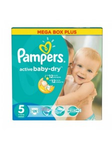 Подгузники Pampers Active Baby Junior5 (11-18 кг), 126 шт