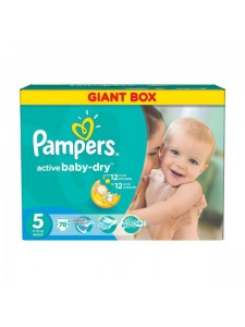 Подгузники Pampers Active Baby Junior 5 (11-18 кг), 78 шт