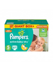 Подгузники Pampers Active Baby Junior 5 (11-18 кг), 87 шт