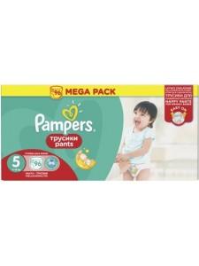 Подгузники-трусики Pampers Pants 5 (11-18 кг), 96 шт