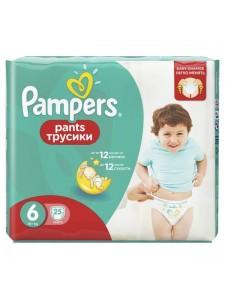 Подгузники-трусики Pampers Pants 6 (16+ кг), 25 шт