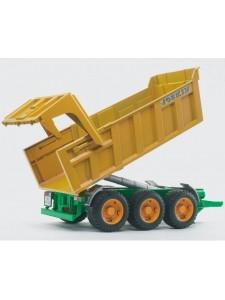 Брудер Прицеп-самосвал желтый Bruder 02212