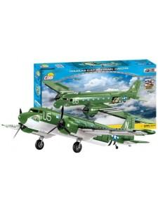 Коби самолет Скайтрейн С47 Cobi 5701