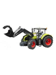 Брудер Трактор Claas Axion 950 c погрузчиком Bruder 03013