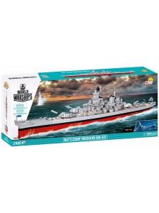 Коби Военный корабль Миссури Cobi 3084