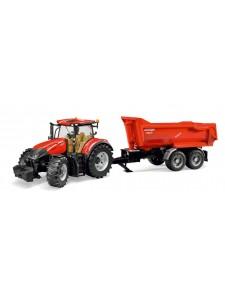 Брудер Трактор Case с прицепом Bruder 03199