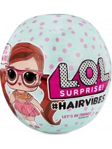 Кукла Lol Hairvibes Лол Хаирвайбс меняет прически